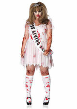 New Leg Avenue 89890X PLUS SIZE 3PC.Putrid Prom Queen Female Adult Costume