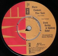 """Steve Harley And Cockney Rebel-Here Comes The Sun / Lay Me Down DEMO 7"""" 45-EMI,"""