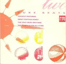"""Various-Sure Beats Two 7"""" 45-Record Mirror, SURE 2, 1988, Picture Sleeve 3 Track"""