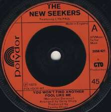 "New Seekers, The-You Wont Find Another Fool Like Me 7"" 45-POLYDOR, 2058 421, 197"
