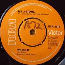 "R And J Stone-We Do It 7"" 45-RCA, RCA 2616, 1976, Plain Sleeve"
