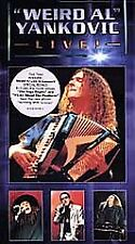 Weird Al Yankovic - Live! (VHS, 1999) New Factory Sealed