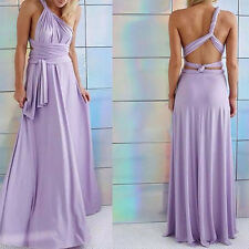 Women Long Bandage Evening Formal Party Cocktail Dress Bridesmaid Prom Gown