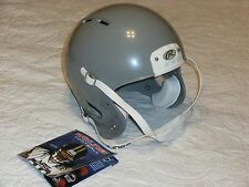 Rawlings NRG Adult Force Football Helmet Gray (Without Face Mask)