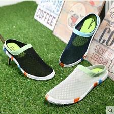 Summer Mens Casual Breathable Comfort Slip On Canvas Loafer Slipper Shoes