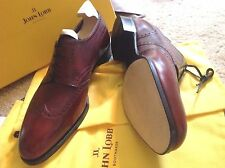 John Lobb Oxford Shoes The Plaza UK 9.5 10 US 10.5 11 11.5 12 Museum Calf + Tree