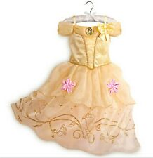 Belle Girls Fancy Dress Disney Beauty and the Beast Kids Child Costume