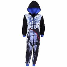Black/Blue One-Piece Long Sleeved Pyjama For Boys Onesie STAR WARS