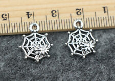 5/20/100pcs Exquisite fashion design of Tibetan silver horseshoe charm pendant