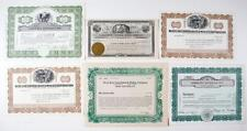 Tonopah, Nevada ~ WEST END / AMBROSIA / LAFAYETTE ~ Mining Stock Collection (6)