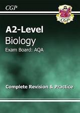 A2-Level Biology AQA Complete Revision & Practice by CGP Books (Paperback, 2009)