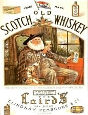 OLD SCOTCH WHISKEY VINTAGE STYLE METAL WALL ADVERTISING SIGN NOSTALGIC GIFT