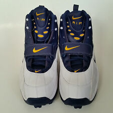 Nike Air Zoom Pro Shark 3/4 Lineman Football Cleats Size 18  Michigan Wolverines