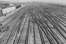The Main Line At Clapham Junction 1940s Photo 6x4