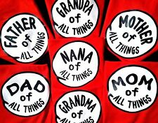 MOM of ALL THINGS THING 1 THING 2 Thing one and thing TWO t-shirts youth adult