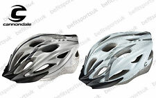 CANNONDALE QUICK MTB ROAD CYCLING BICYCLE BIKE HELMET WHITE SILVER SIZES S M L X