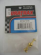 DURATRAX - CV JOINTS GOLD ALUMINUM MICRO STREET FORCE (2) - DTXC7279