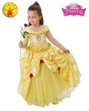 Girls Costume Fancy Child Dress RD Licensed BELLE AND THE BEAST BALLGOWN sz S,M
