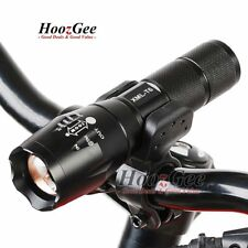 Bike Bicycle Cycling T6 LED Zoom Adjustable Front Torch Lamp Headlight 5 Modes