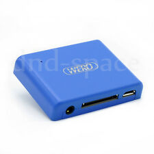 2in1 Wireless Bluetooth Audio Receiver Music Adapter for 30pin iPod Dock Speaker
