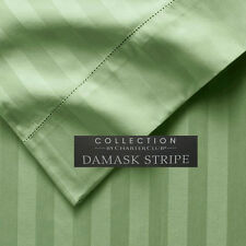 50% OFF Charter Club Damask Stripe 500 TC Count Ivy Green Bedskirt -Multi Size