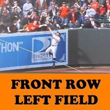 2 Front Row Seats Baltimore Orioles Tickets vs. New York Yankees 4/7/17