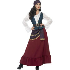 Adult Deluxe Pirate Buccaneer Beauty Ladies Fancy Dress Costume Outfit 45534