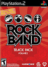 Rock Band Track Pack Vol. 2 (Sony PlayStation 2, 2008) - COMPLETE