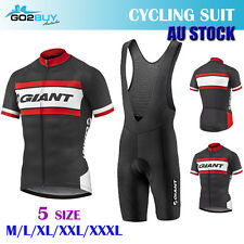 New Men Giant Bicycle Cycle Clothes Sleeve Shirt Jersey Short Pants Cycling Suit