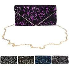 Elegant Printed Clutch Evening Party Handbag Envelope Bag Purse for Women