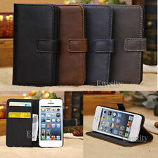 Flip Wallet Leather Stand Credit Card Set Case Cover For Apple iPhone 5C New