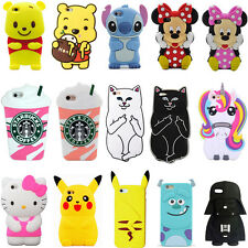 3D Cute Cartoon Animals Soft Silicone Case Cover For iPhone iPod Touch 5 / 6 Gen