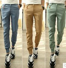 NEW Men Loose Casual Sport Pencil Pants Long Jogger Trousers Baggy Tapered Pants