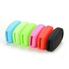 For Audi A2 A3 A4 A6 Tt Q7 R8 Silicone Flip Key Remote Holder Cover Fob TSUS