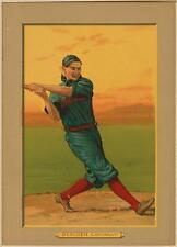 Photo Bob Bescher Cincinnati Reds baseball Card American Tobacco Co. 1911 Besche