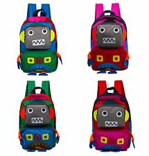 Cartoon Robot children backpack kids girl kindergarten backpack child school bag