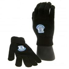 Premier Football League Team Embroidered Crest Knitted Gloves For Junior Gift