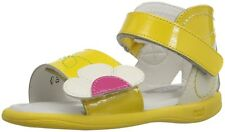 Umi Toddler Girls Adriel Jr.Leather Ankle Strap Sandals Yellow 32034-700