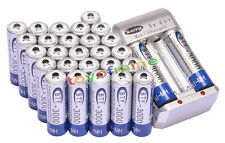 28x AA 3000mAh 1.2V Ni-MH rechargeable battery BTY for MP3 RC Toy Camera+Charger