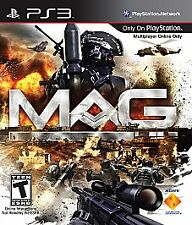 MAG  (Sony Playstation 3, 2010) - Complete