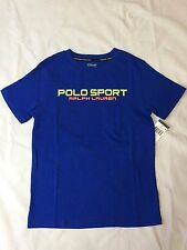 NWT,POLO RALPH LAUREN BOY'S GRAPHIC SHORT.SLEEVE T.SHIRTS - PAC ROYAL