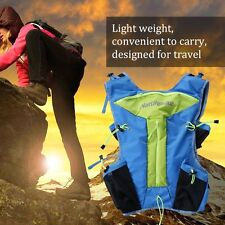 Outdoors Waterproof Travel Backpack Light Weight Double Shoulders Pack BE