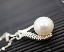 Single Pearl Necklace Genuine Freshwater Flawless Pearl Necklace