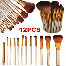 Makeup Cosmetic 12pcs Brushes Set Powder Foundation Eyeshadow Lip Brush HOT  BG