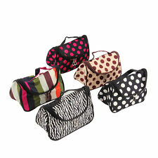 Fashion Travel Portable Cosmetic Bag Makeup Case Pouch Toiletry Wash BE