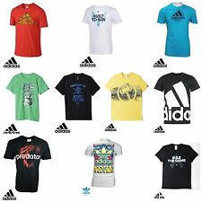 Mens adidas climalite sports training Cotton Tee Crew Neck T-Shirt