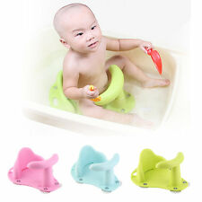 New Baby Bath Tub Ring Seat Infant Child Toddler Kids Anti Slip Safety Chair ~SG