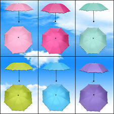 Folding Anti-uv Sun Protection Encounter Water Appear Flower Umbrella 6 Colors H