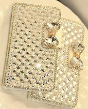 Luxury Bling Bowknot Crystal Diamond Wallet Flip Case Cover For iphone 7 7+ 6 6+