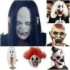 New Halloween Horror Clown Skinner Mask Adult Costume Accessory Scary Devil Face